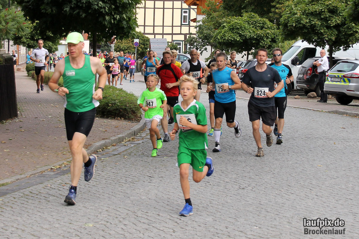 Brockenlauf 9km Start 2016 - 36