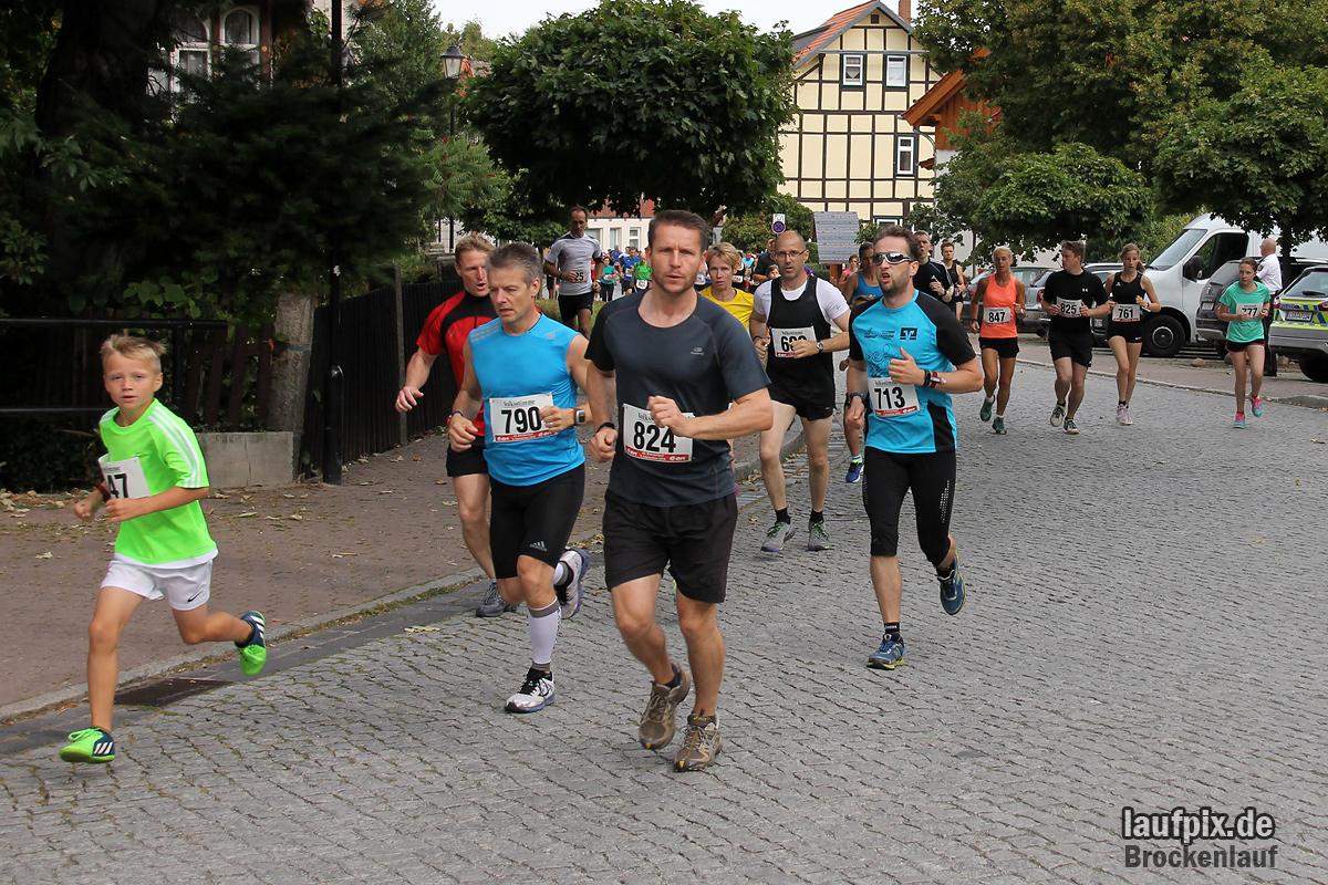 Brockenlauf 9km Start 2016 - 38