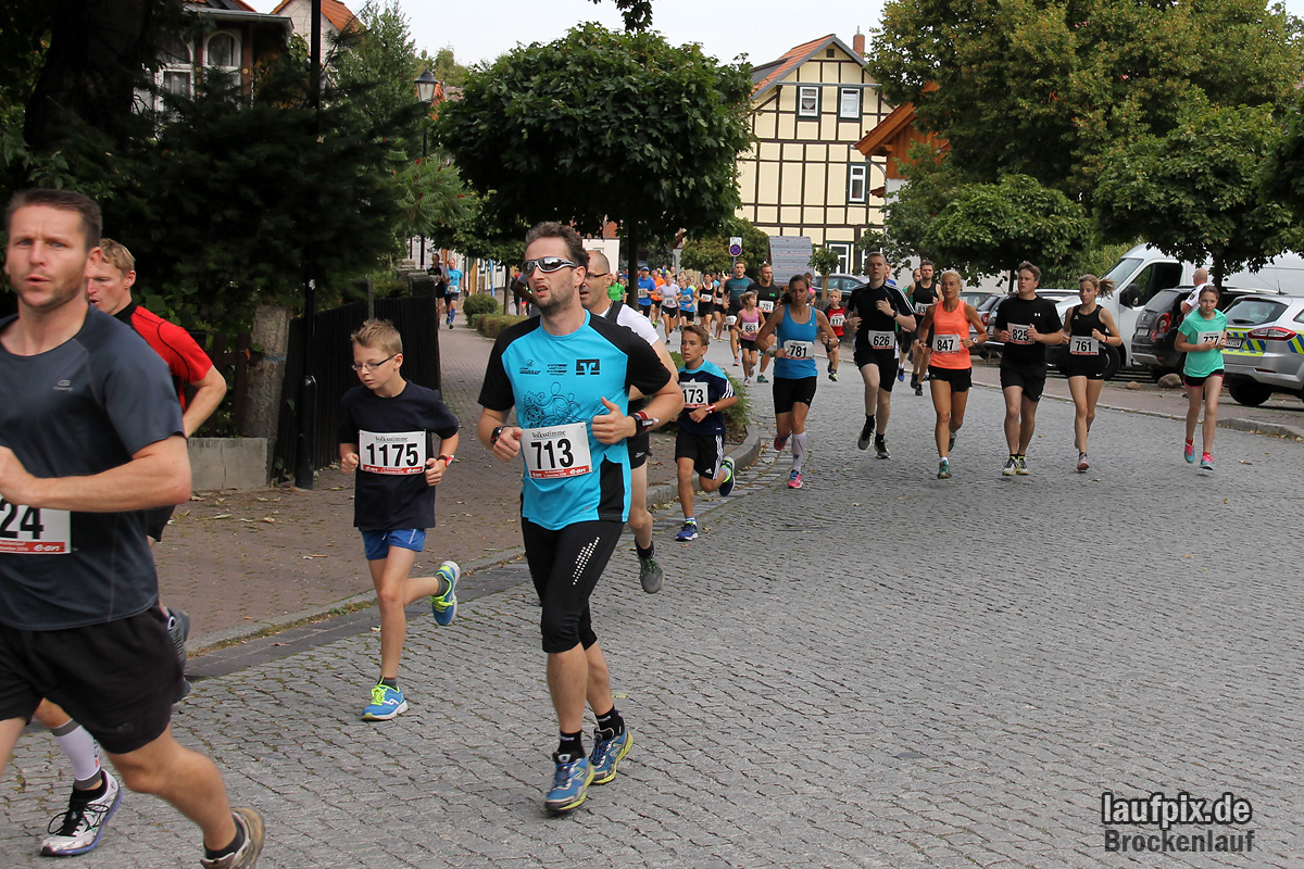 Brockenlauf 9km Start 2016 - 39