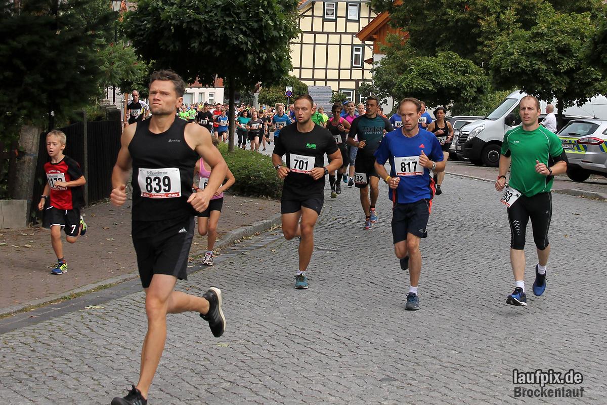 Brockenlauf 9km Start 2016 - 46