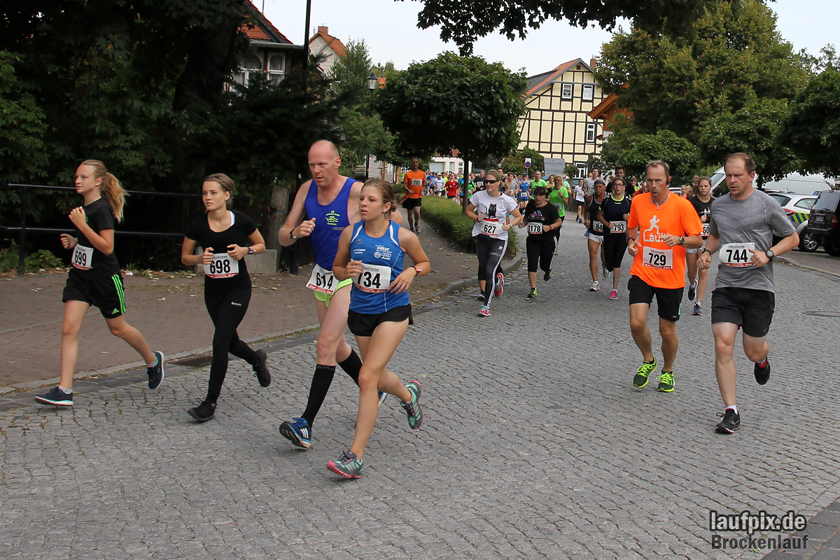 Brockenlauf 9km Start 2016 - 59