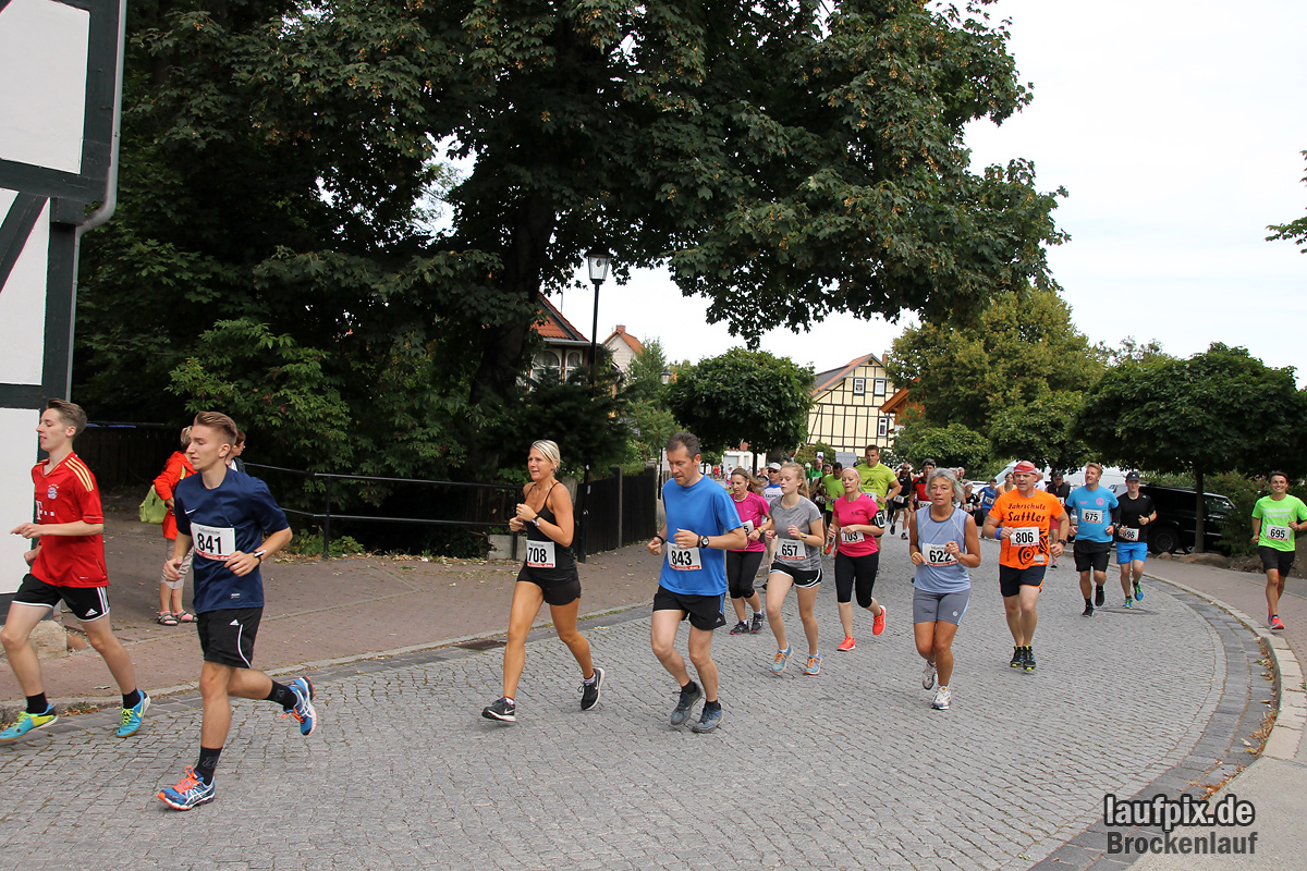 Brockenlauf 9km Start 2016 - 72