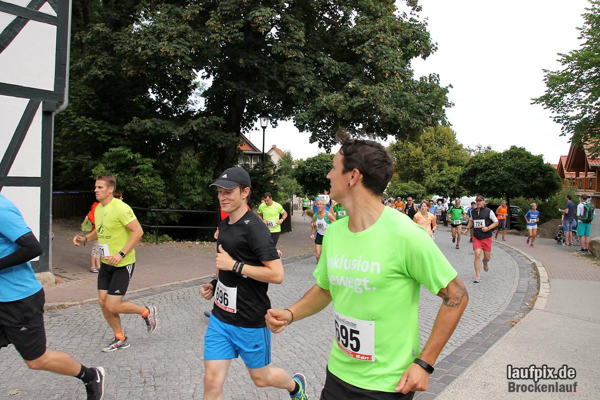 Brockenlauf 9km Start 2016 - 76