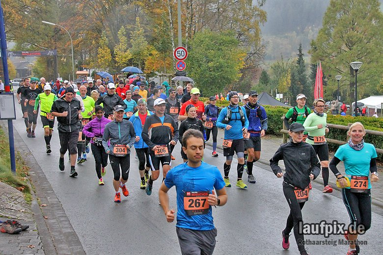 Rothaarsteig Marathon Start 2017 - 12