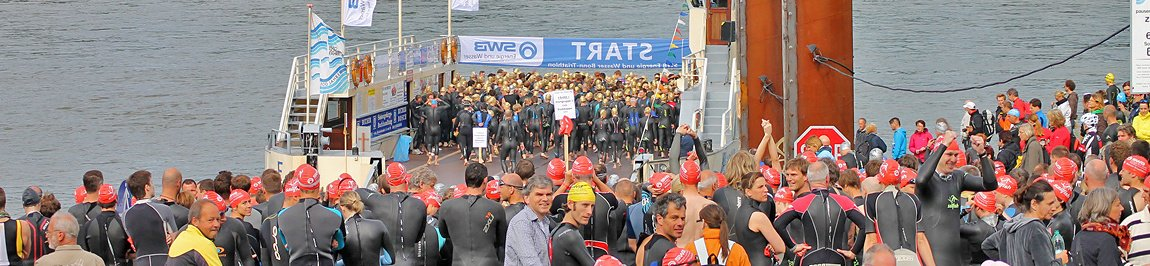 Fotos Bonn Triathlon - Swim 2012  (Teil 1)