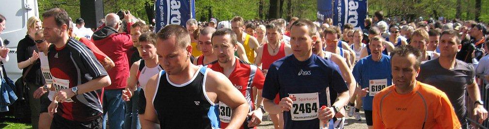 Fotos Hermannslauf 2008