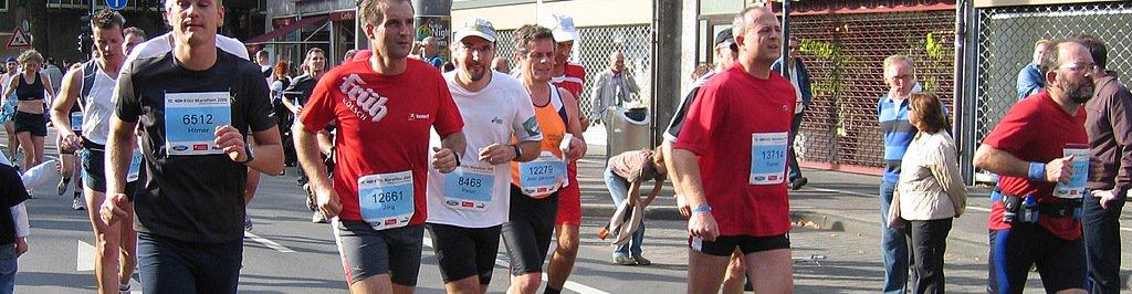 Fotos Köln Marathon 2006