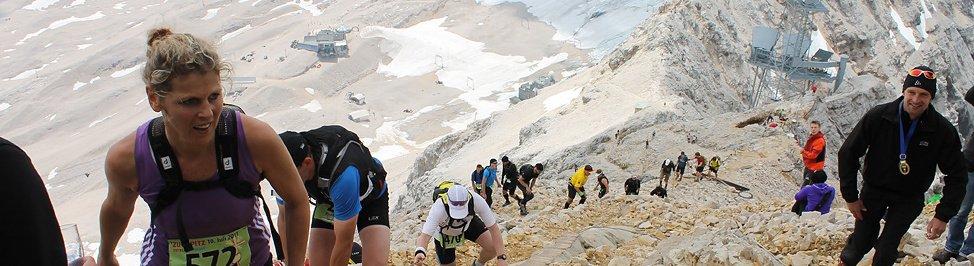 Fotos Zugspitzlauf Extremberglauf - Ziel 2011