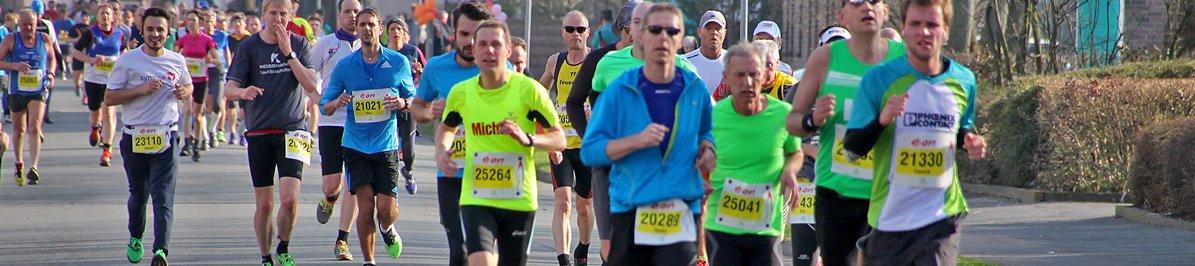 Simssee Halbmarathon mit Staffellauf 2020