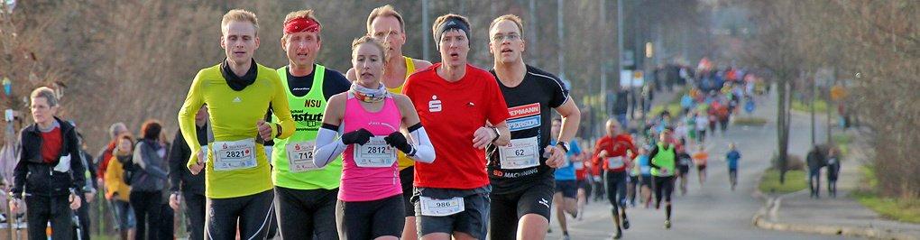Fotos Silvesterlauf Werl Soest - Strecke 2013  (Teil 1)